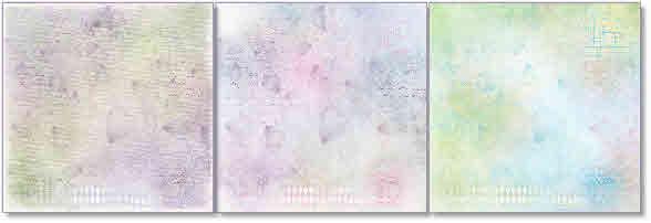 watercolour script papers