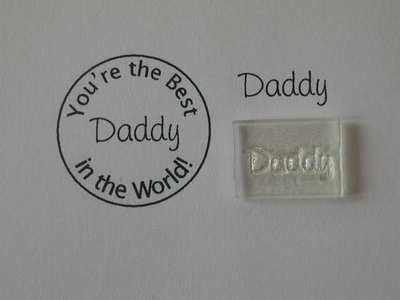 Daddy, stamp 2