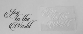 Joy to the World stamp