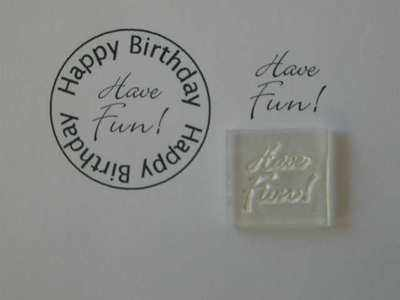 Have Fun! Little Words stamp