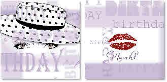 hats kisses closeup