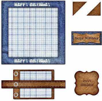 denim & leather topper kit