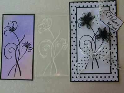 Flower Stems stamp