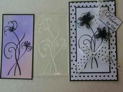 Flower Stems stamp