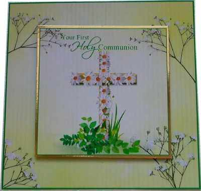 First Holy Communion digi card topper