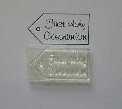 Tag stamp, First Holy Communion