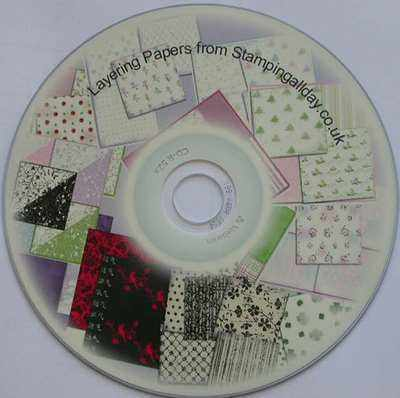 Layering papers on CD