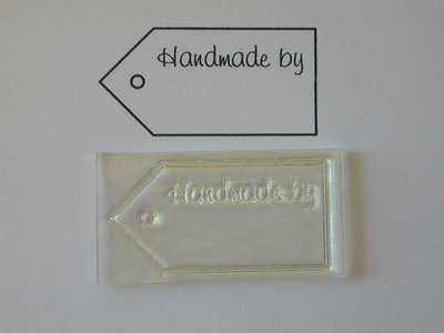 Tag stamp, Handmade by