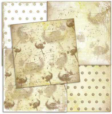 Shabby paper pack, Make a Wish
