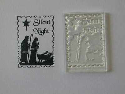 Christmas postage stamp, Silent Night