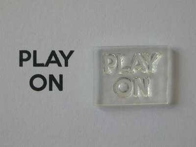 Play On, for Keep Calm and, stamps