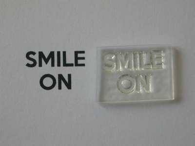 Smile On, for Keep Calm and, stamps