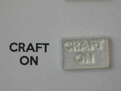 Craft On, for Keep Calm and, stamps