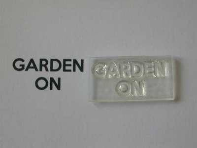 Garden On, for Keep Calm and, stamps