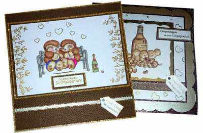 Tracy E engagement cards