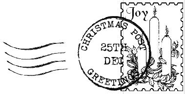 postmark and stamp