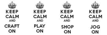 keep calm examples