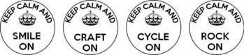 keep calm circles