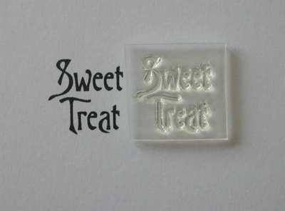 Victorian style Sweet Treat stamp