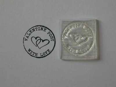 Postmark stamp, Valentine Post