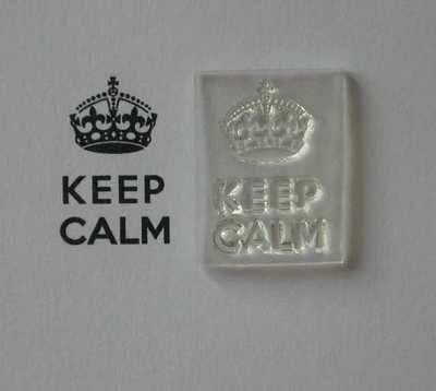 Keep Calm stamp