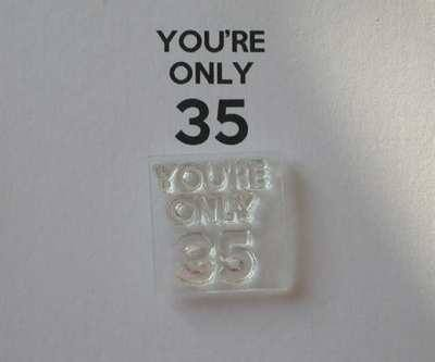 You're only 35 for Keep Calm stamp