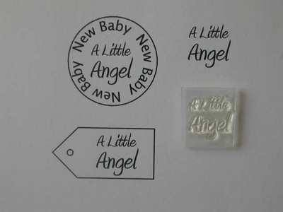 A Little Angel, clear stamp