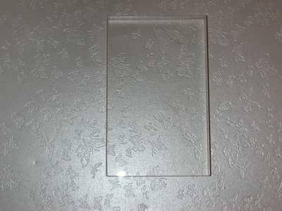 Acrylic block 5cm x 8cm