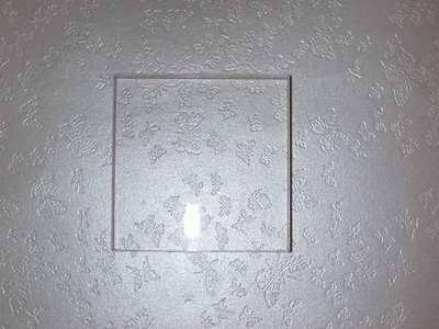 Acrylic block 5cm x 5cm