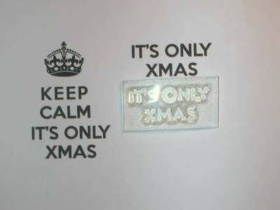 It's Only Xmas, for Keep Calm stamp
