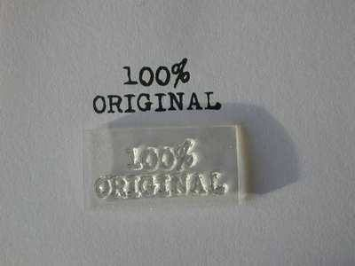 100% Original, clear stamp