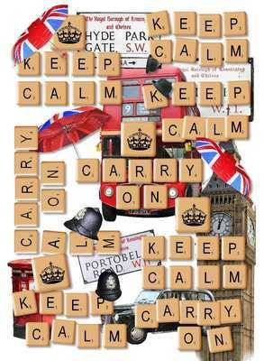 Scrabble paper, Keep Calm