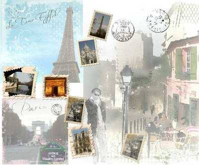 Paris Papers, digi kit