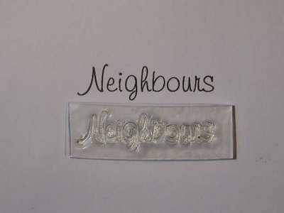 Neighbours, stamp 3