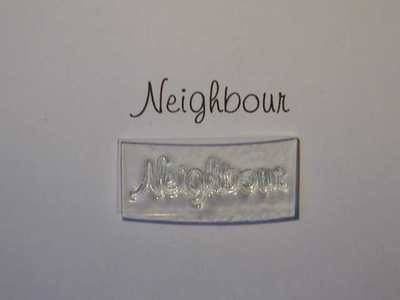 Neighbour, stamp 3