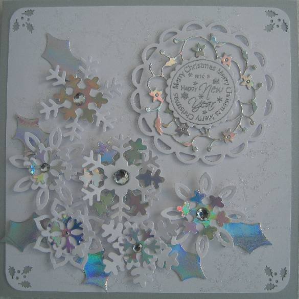 Snowflake card by Jayne B