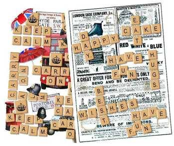 Scrabble papers
