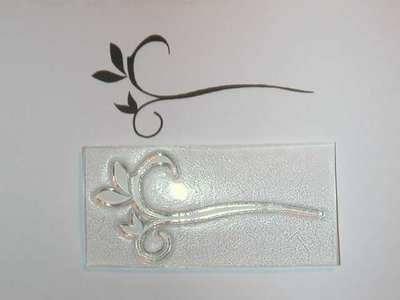 Deco style Flourish stamp