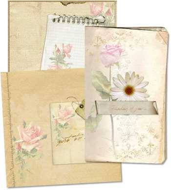 Shabby Notepapers
