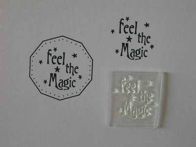 Feel the Magic stamp