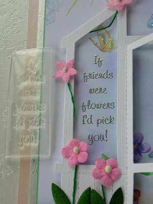 If Friends were Flowers, verse