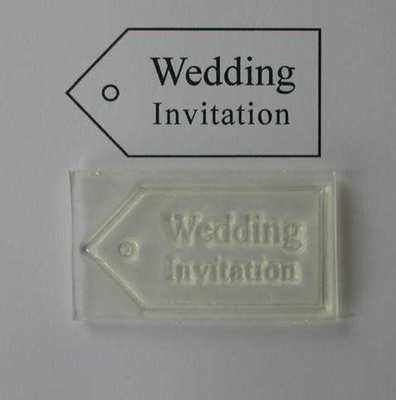 Tag, Wedding Invitation