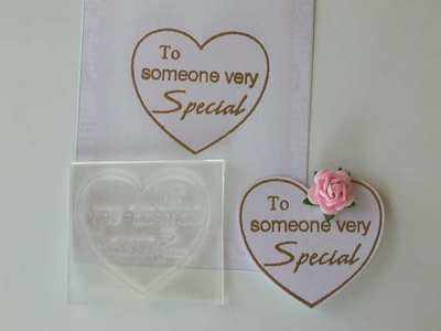 Heart, To someone very Special