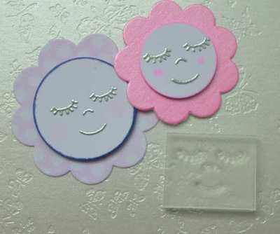 Little Flower Face stamp
