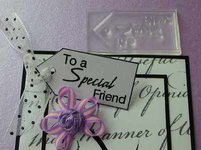 Tag, To a Special friend