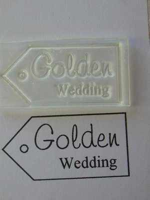Tag, Golden Wedding