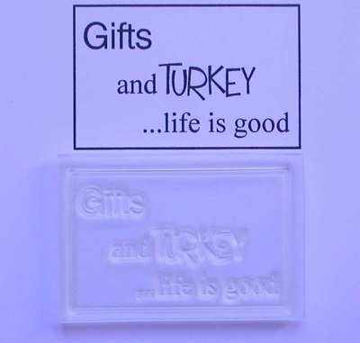 Gifts and Turkey, Life is good
