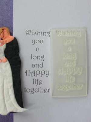 Wedding verse, Long & Happy Life