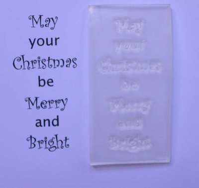 Merry & Bright Christmas verse