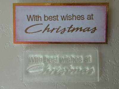 With Best Wishes at Christmas